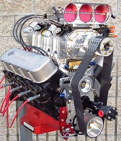 Big Block Chevy Supercharged Crate Engines Holeshot